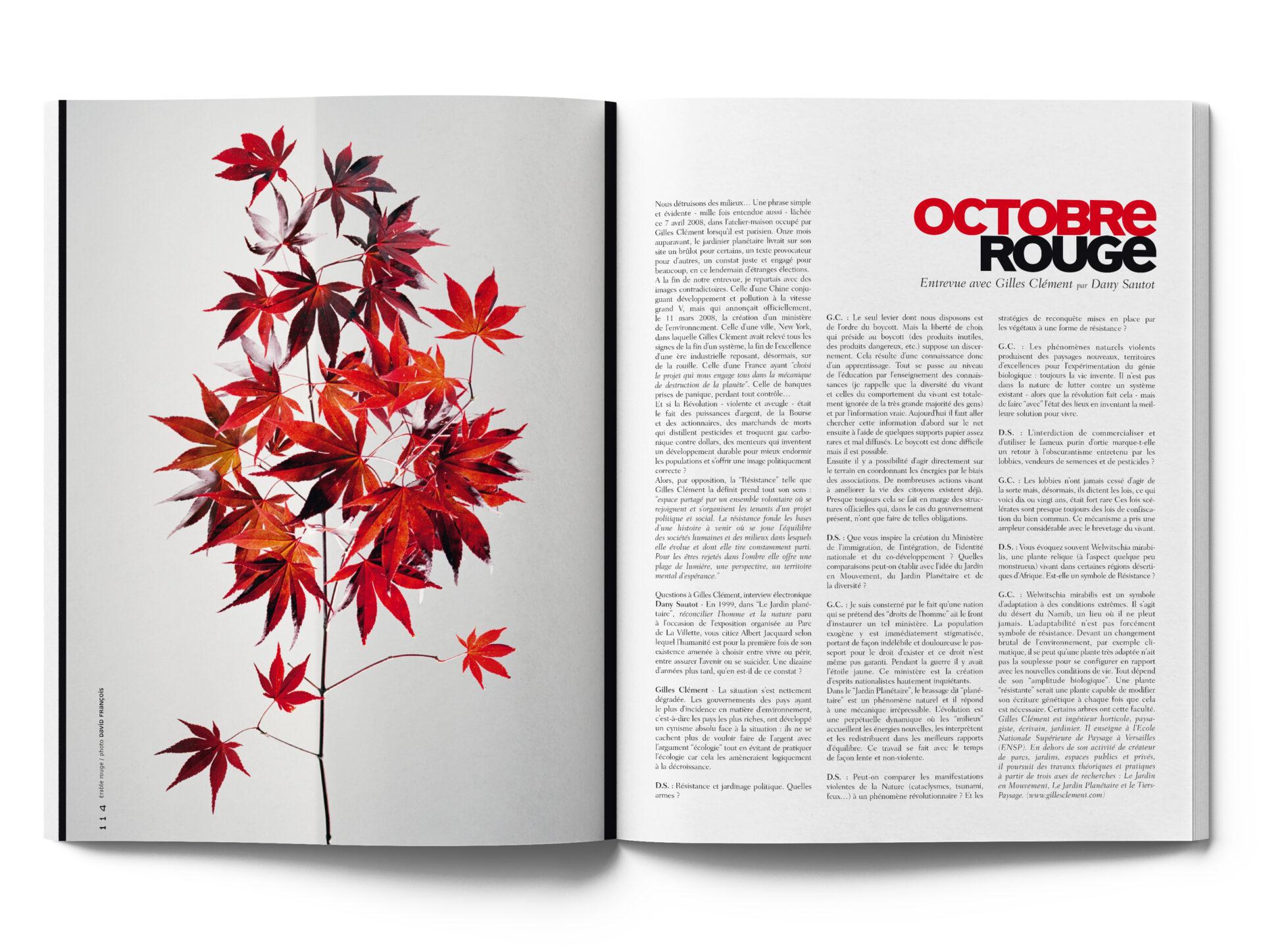 #3 Octobre rouge